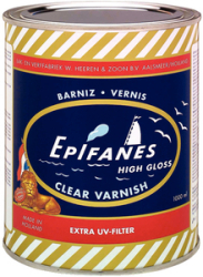 Clear Gloss Varnish   Quart - Epifanes