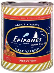 Clear Gloss Varnish  1/2 Pint - Epifanes