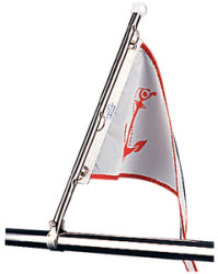 Seadog Line Pulpit Flag Pole