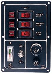 Switch Panel W/Cig. Lighter - Seadog Line