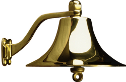 "Ship's Bell 8"" Polished Brass - Sead …"