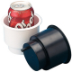"3 1/4"" Black Drink Holder Combo - Seadog …"