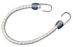 "Elastic Shock Cord w/SS Hook, 3/8"" X 18& …"