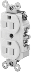 Receptacle Duplex 15a - Hubbell