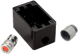 Box Fs Cord Grip/Pvc Adptr - Hubbell