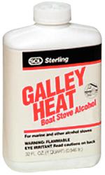 Galley Heat Stove Alcohol, Qt - Savogran Comp …