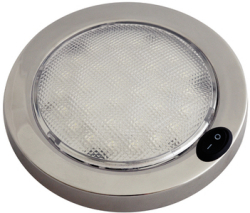 Led Dome Lght Wht/Red Ss - Aqua Signal