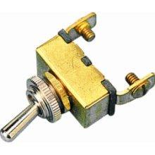 Toggle Switch On/Off--Brass - Seadog Line