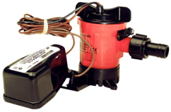 Combo Bilge Pump 500 GPH 12v with Switch -Sea …