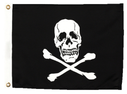 "Seachoice, Jolly Roger Flag, 12""X18&quot …"