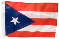 "Puerto Rico Flag, Dyed, 12"" x 18"" - …"