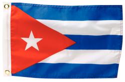 CUBA FLAG 12 X 18 - Seachoice