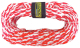50' Tube Tow Rope 3,000 lb 2-Person Capac …