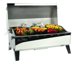 Stow N Go BBQ, 160 Sq. In with Thermometer &a …