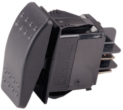 Rocker Switch On-Off Led Spst - Ancor