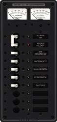 PANEL AC 10POS 120V MAIN+V/AMM - Blue Sea Sys …