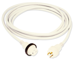 30a Shore Power Cord Wht 50ft - Marinco