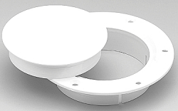 Deck Plate 3in Snap- In Wht Pls - Afi (Marinc …