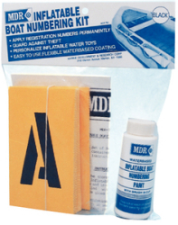 Numbering Kit Black - Mdr
