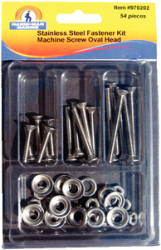 Ss Oval Machine Screw Kit - Handi-Man Marine