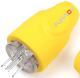 15a Plug (M) Yellow - Furrion Ltd
