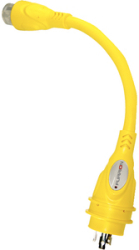 Pigtail 15a F To 30a M Yellow - Furrion Ltd