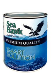 Sea Hawk SS Outdrive Paint Black Pint