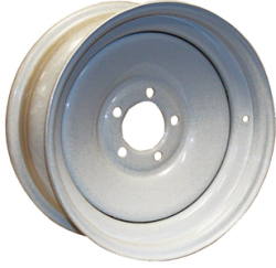 "Steel Trailer Wheel, 10"" x 6"", Galv …"