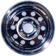 "Mod Chrome Trailer Wheel, 14"" x 6"", …"