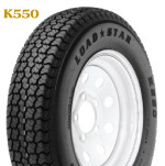 Kenda K550 ST215/75D-14 Bias Tire w/ 5H Spoke …