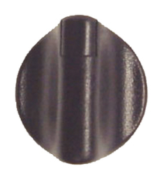 BLACK KNOB W/BLACK INDICATOR - Sierra