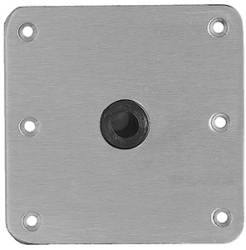 Base Plate S/S Lip Tube - Swivl-Eze