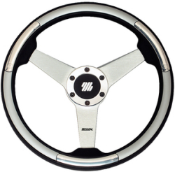 Silver Steering Wheel - Uflex