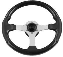 Spargi Leather Look Boat Steering Wheel, Blue …