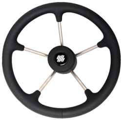 Black Steering Wheel - Uflex