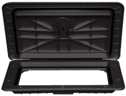 13 X24 Access Hatch-Black - T-H Marine Supply