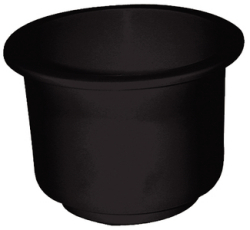 T-H Marine Supply, Large Cup Holder Black, Re …