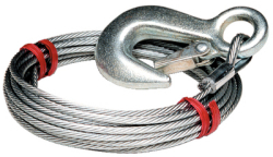 7/32 In. X 25'winch Cable - Tie Down Engi …