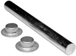 """5/8"""" X 9-1/4"""", Zinc Plated, Roller  …"""