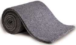 "11"" X 12' Bunk Carpet, Gray - Tie Do …"