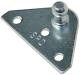 Flat Zinc Plt Bracket 1 Pr/Pk - Taylor Made