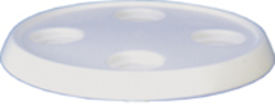 Round White Boat Tabletop Only - White - Todd