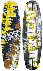 Shockwave Carbon 141cm Wakeboard with Boss Bi …