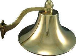 """6"""" Polished Brass Bell - Marpac"""