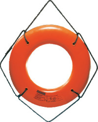 "RING BUOY ORANGE 30"" - Cal-June"