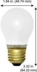 15W A15 MED SC 34V BULB - Light Bulb Depot 2, …