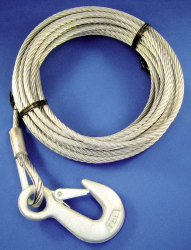 "7/32"" x 50' Winch Cable - Marpac"