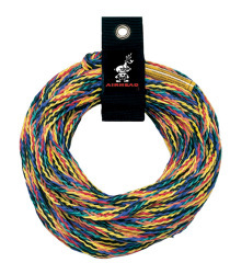60' Tube Tow Rope 2,375 lb 2-person Capac …