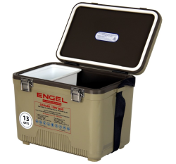 Engel Usa Tan Dry Box 13 Quart Cooler