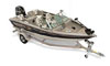 An Aluminum V-Hull Fishing Boat w/ Walk-Thru Windshield Boat Example